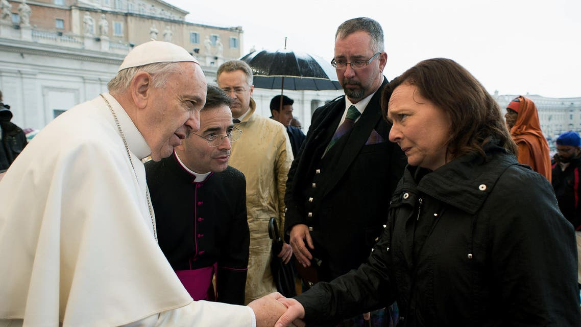 Pope Francis Henning AFP