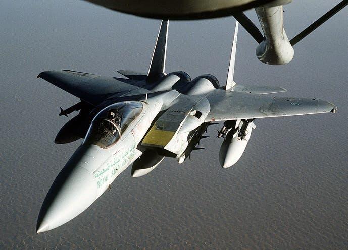 طائرة أف 15 ايغل، العمود الفقري لسلاح الجوي السعودي