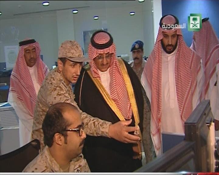 THUMBNAIL_ محمد بن سلمان أشرف على الضربة الأولى ضد الحوثيين