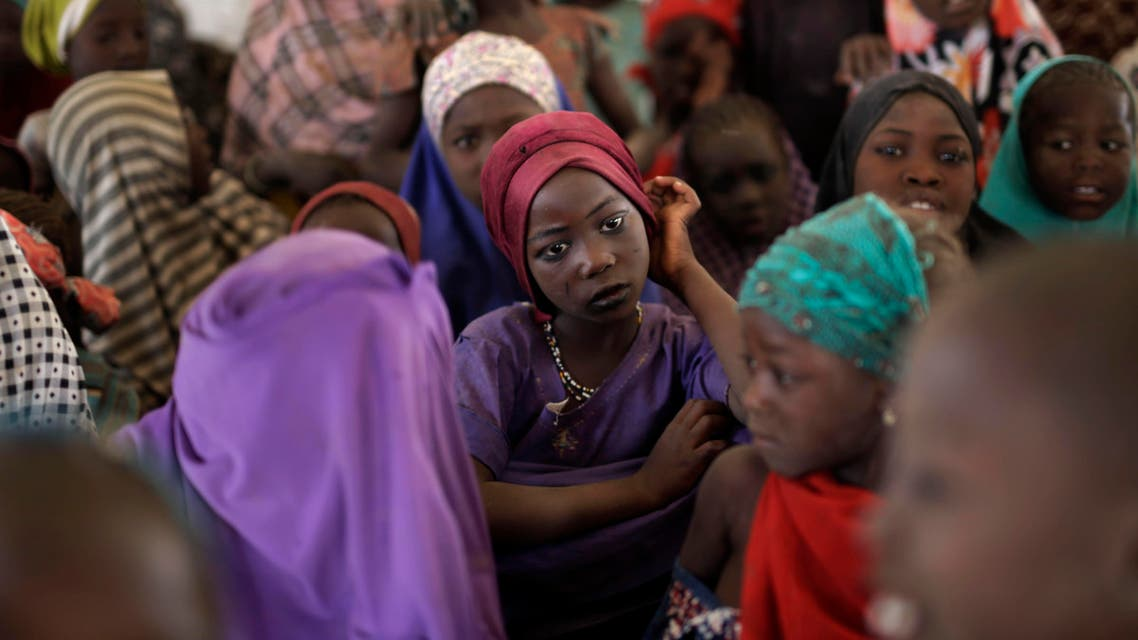 Nigerian girls who fled Boko Haram to Chad gather in a school set up by UNICEF at the Baga Sola refugee camp in Chad. (File Photo:AP)
