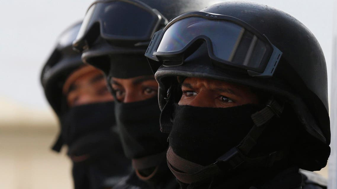 Members of the Saudi special security forces take part in a military exercise in Arar, near Saudi Arabia's northern border with Iraq March 18, 2015. (File: Reuters)