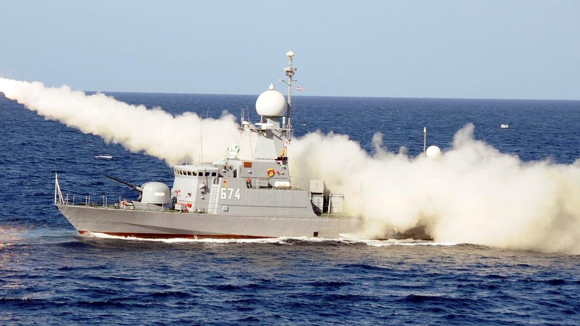 Egypt war ship (AP)