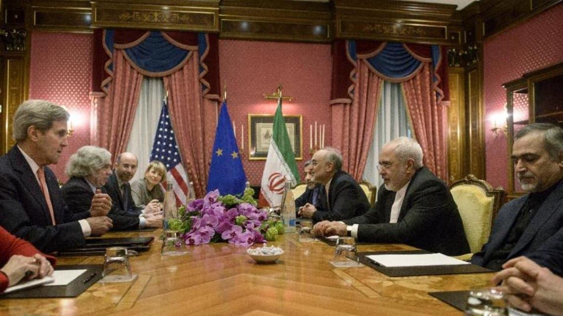 المحادثات النووية في لوزان