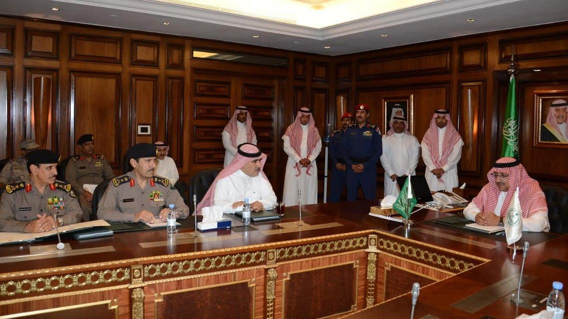 Deputy Crown Prince chairs a meeting of the internal security forces commanders (SPA)