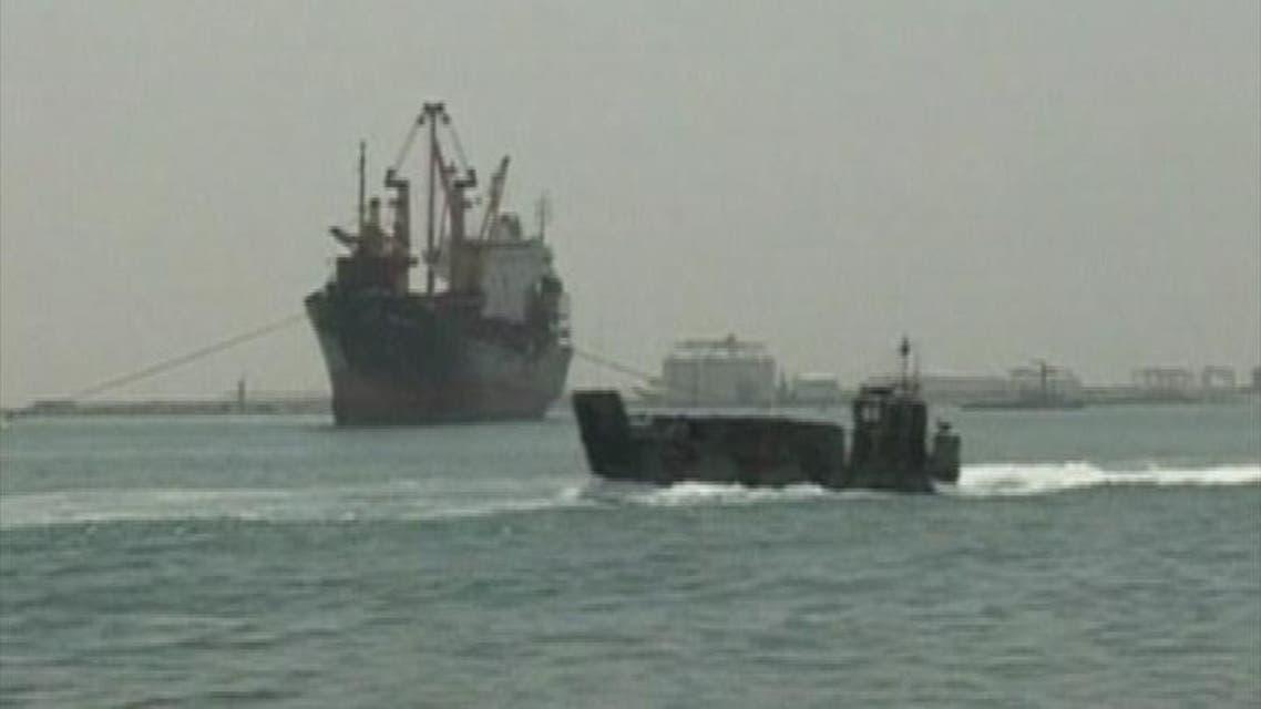 THUMBNAIL_ مصر ترسل 4 سفن لتأمين باب المندب
