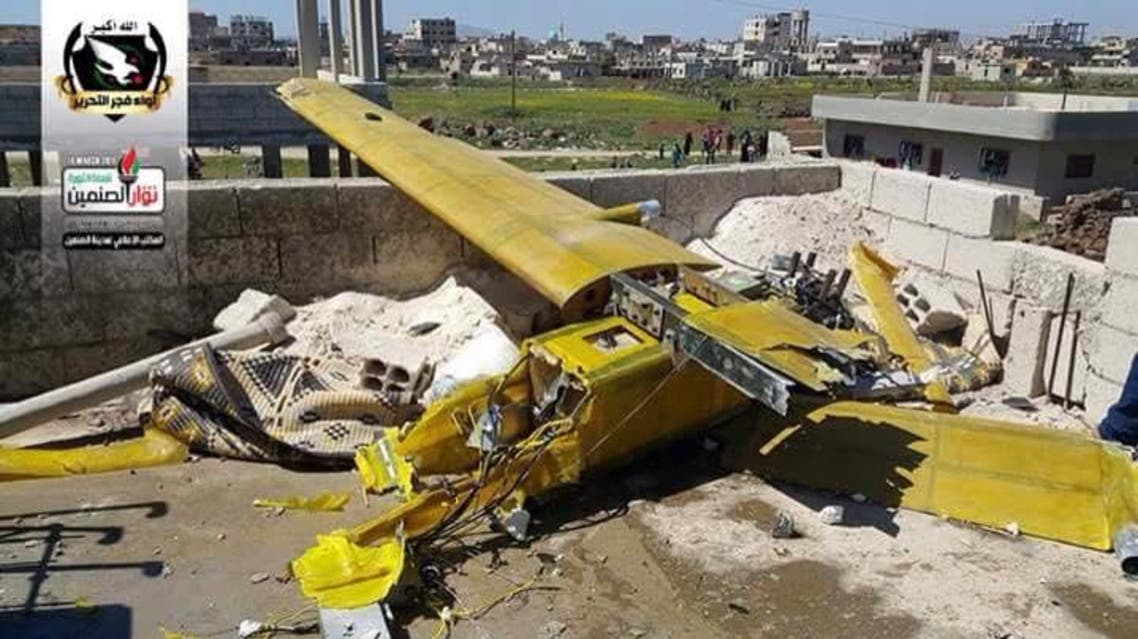 سقوط طائرة إيرانية في ريف درعا