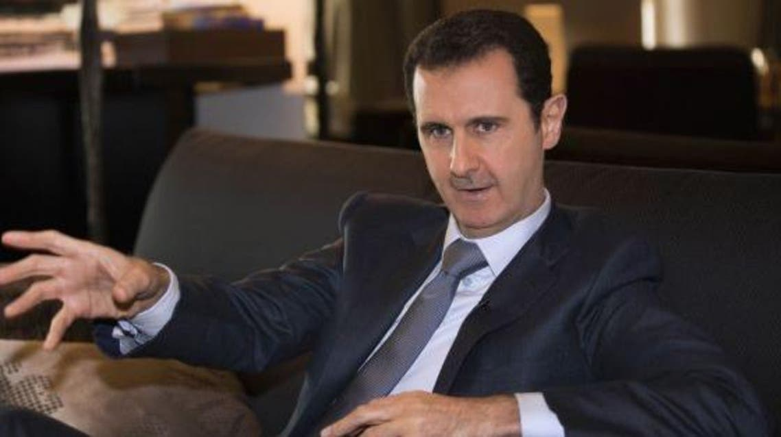 Assad made the remarks in an interview with Charlie Rose for CBS News' 60 Minutes. (FILE REUTERS)