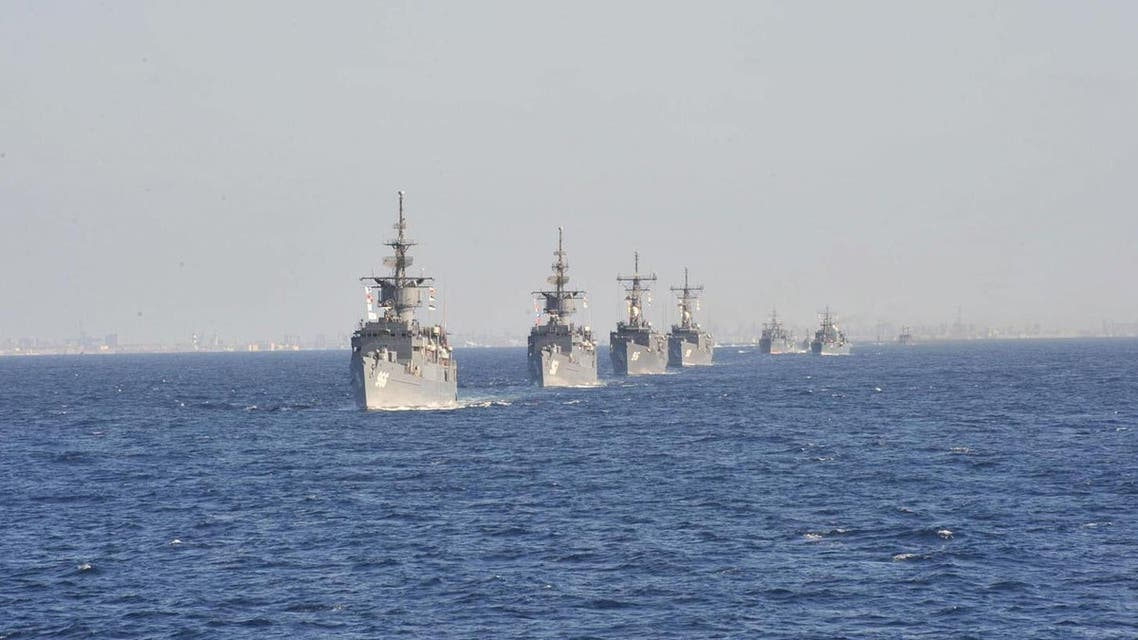 Pictured: Egyptian navy warships. Photo for illustrative purposes only (Photo courtesy of Militaryphotos.net)