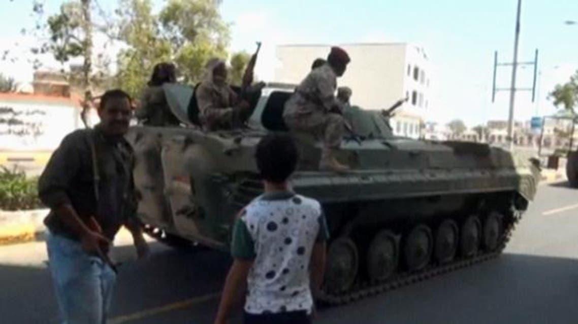 """""""اللواء 35"""" في تعز يعلن ولاءه للرئيس اليمني"""