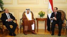 Yemen president returns to Saudi Arabia with King Salman