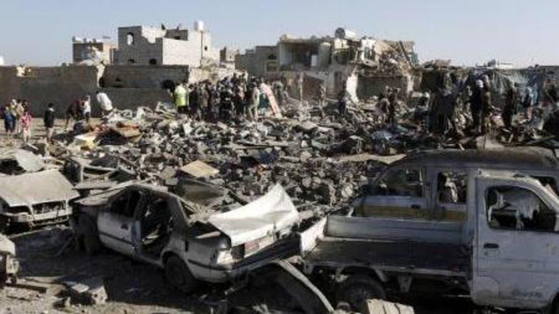 أكبر مستودع للأسلحة في عدن