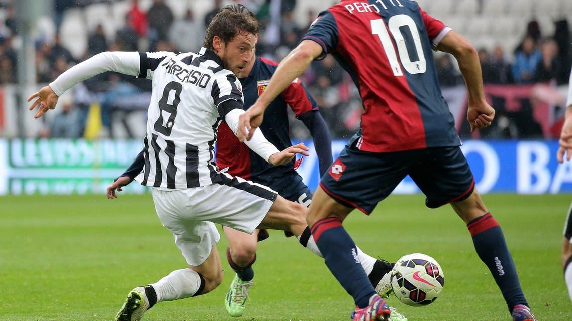 Juventus' midfielder Claudio Marchisio AFP