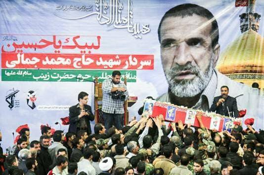 القيادي في الحرس الثوري محمد جمالي
