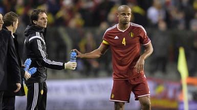 كومباني خارج تشكيلة بلجيكا ضمن بطولة اليورو