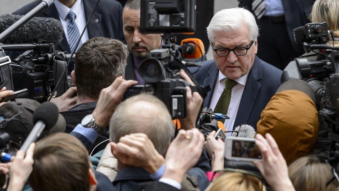 German Foreign Minister Frank-Walter Steinmeier AFP