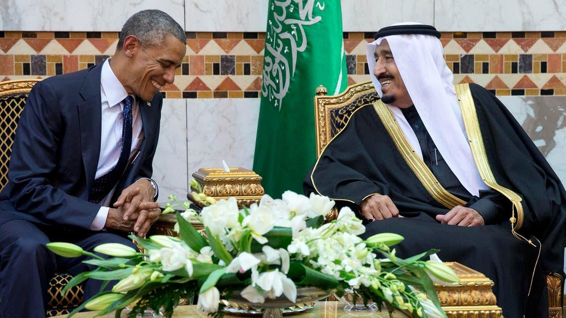 President Barack Obama had met new Saudi King Salman in Riyadh in January. (AP)