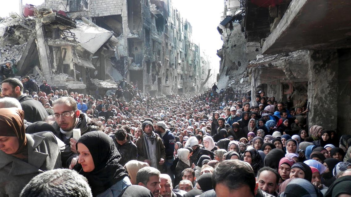 Yarmouk in Syria AP