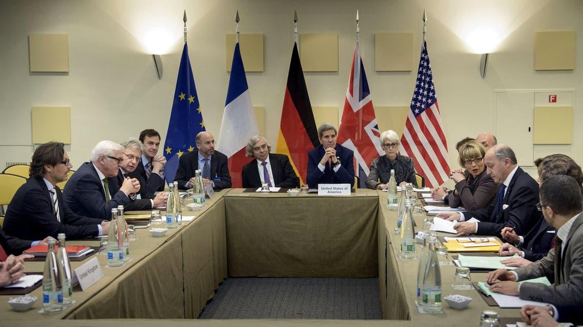 إيران - جانب من اجتماعات لوزان 3