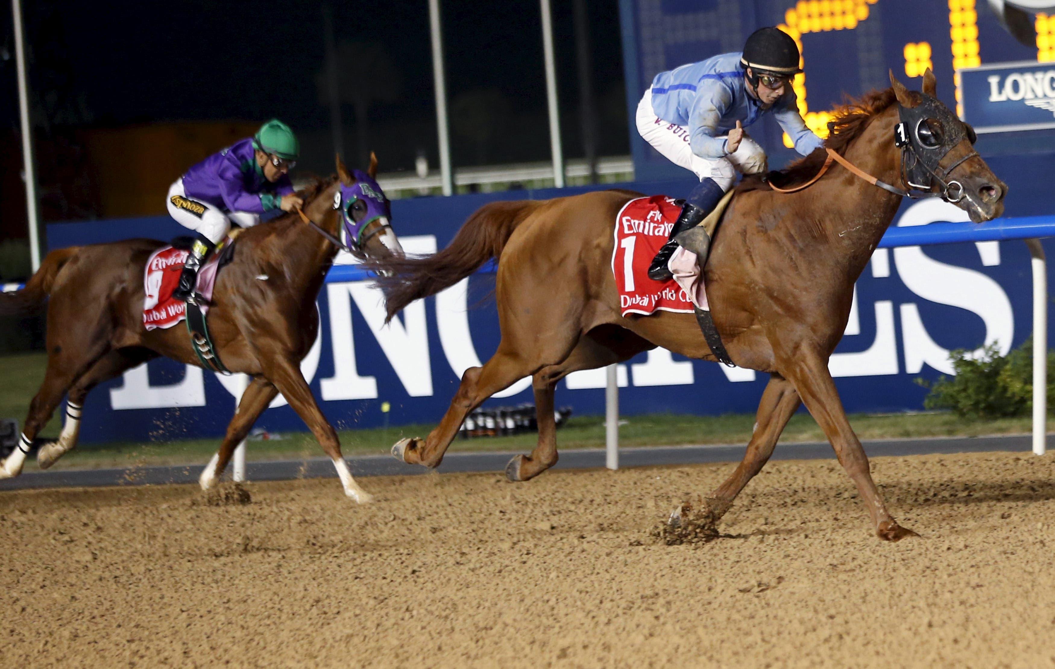 Hats and horses at Dubai World Cup