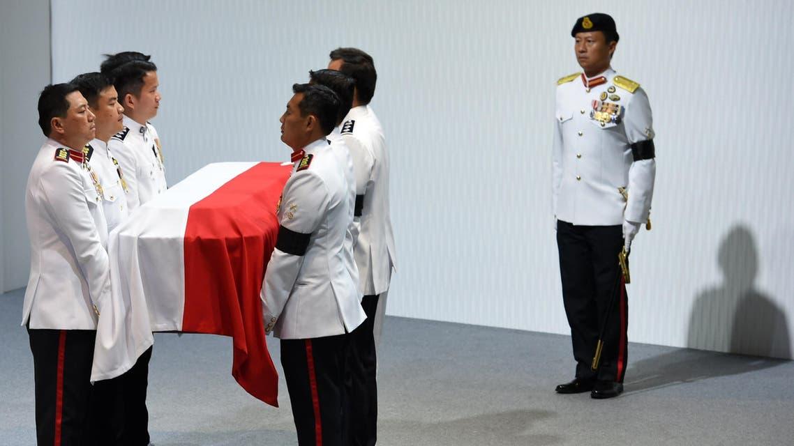 Lee Kuan Yew funeral AP