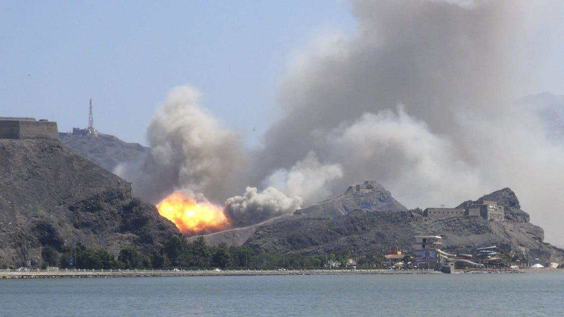 اليمن  - جبل الحديد 3