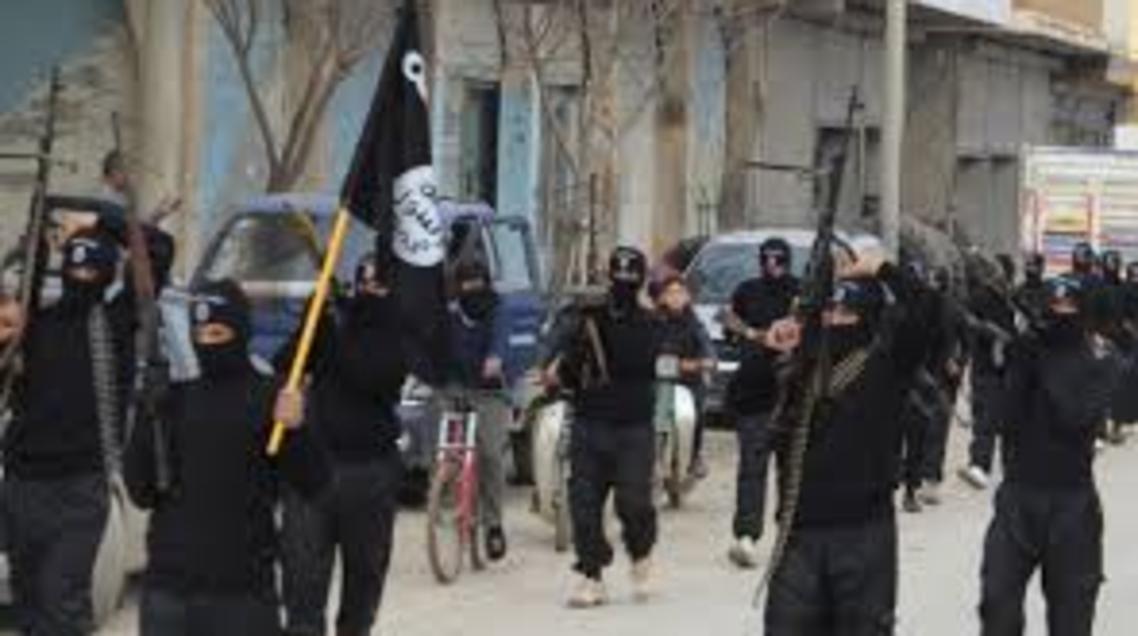 عناصر داعش في تكريت