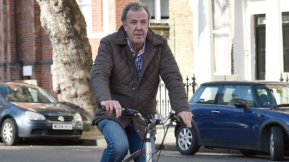 British television presenter Jeremy Clarkson returns to his home in west London March 26, 2015. (Reuters)