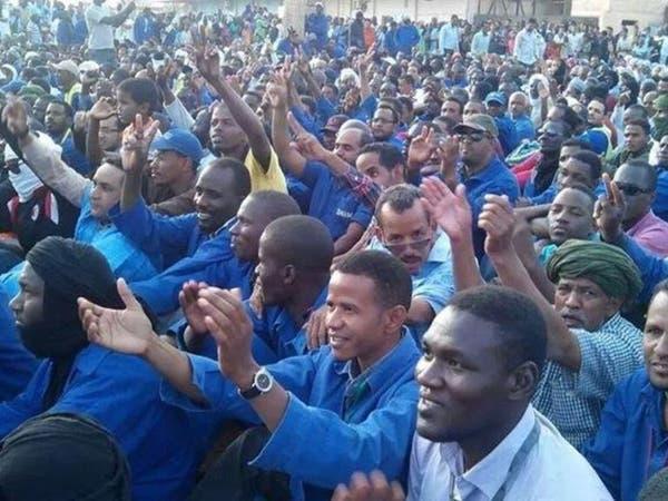 صداع في موريتانيا بسبب أكبر إضراب عمالي
