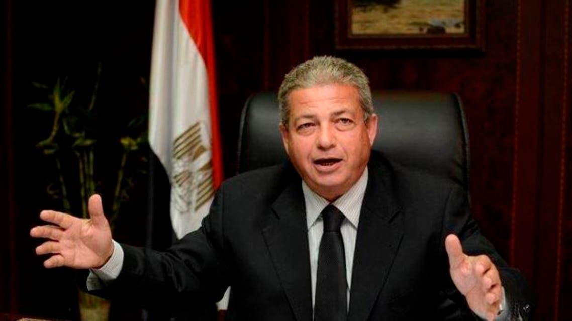 المهندس خالد عبدالعزيز وزير الرياضة المصري