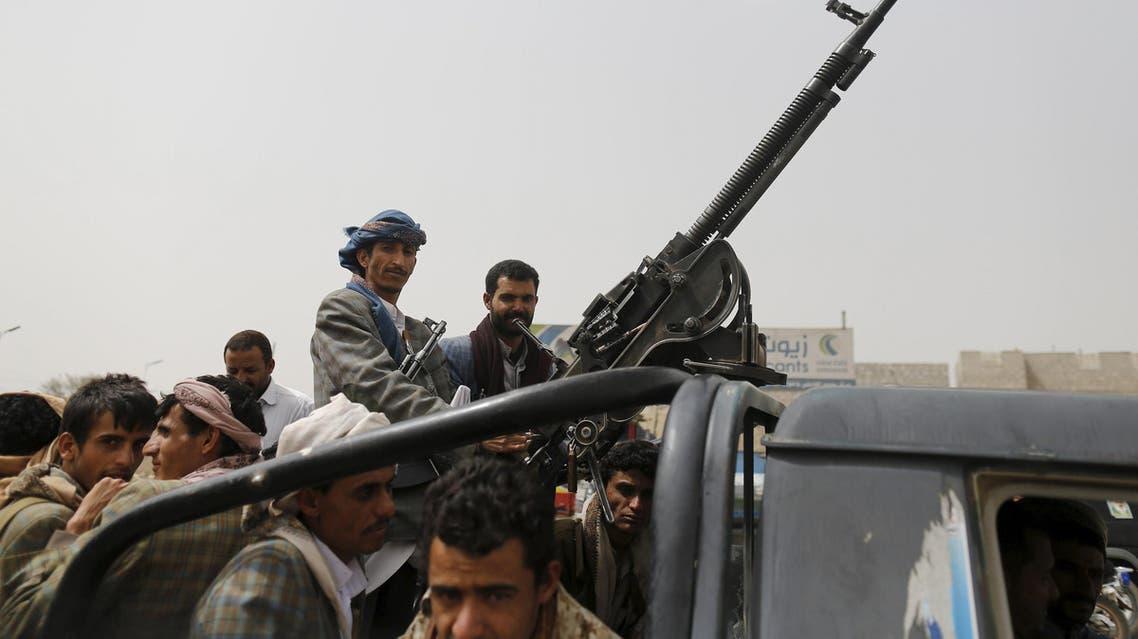 3 عناصر من الحوثيين بالقرب من مطار صنعاء