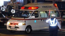 Would-be robber breaks leg, calls ambulance in Japan