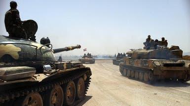 قوات النظام تقترب من الالتقاء في ريفي حلب وإدلب