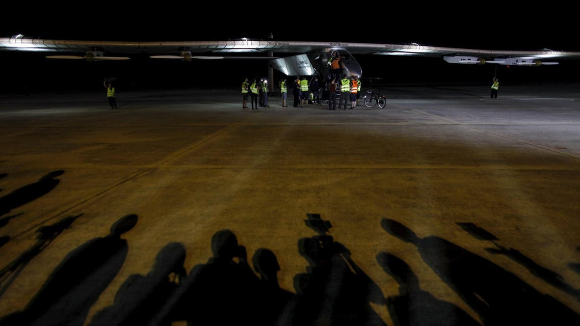 Solar Impulse lands in China after 20-hour flight from Myanmar (Reuters)