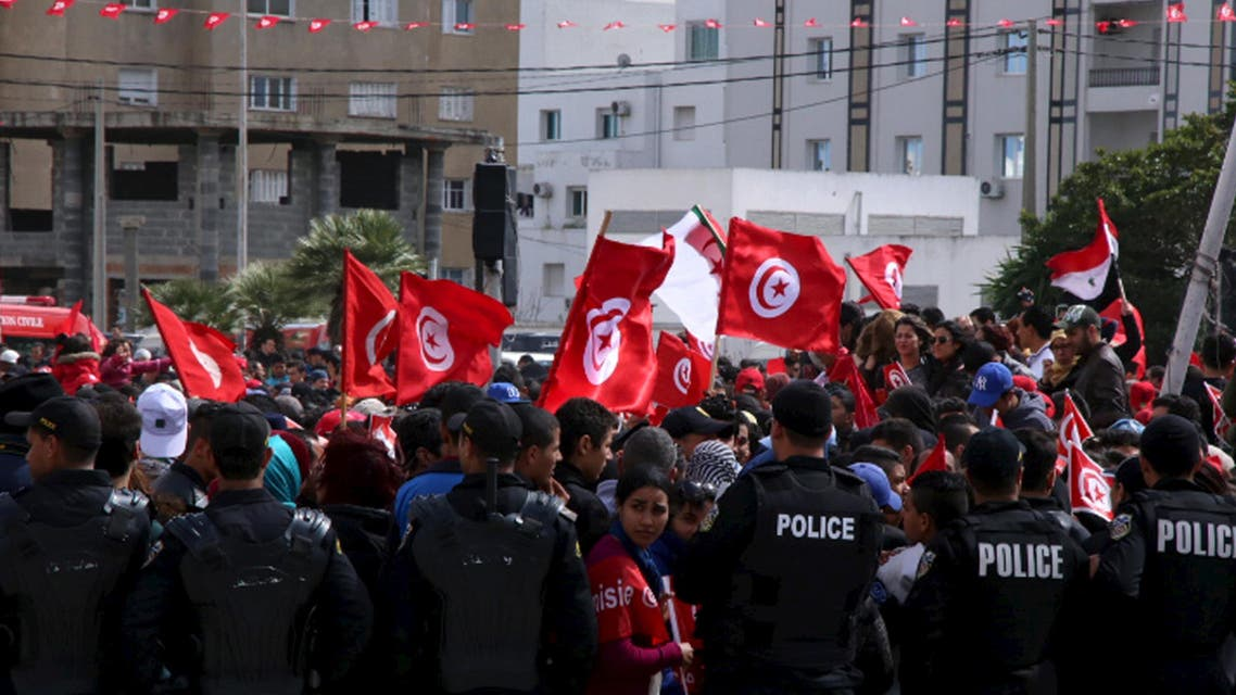 Tunisians march after Bardo Attack