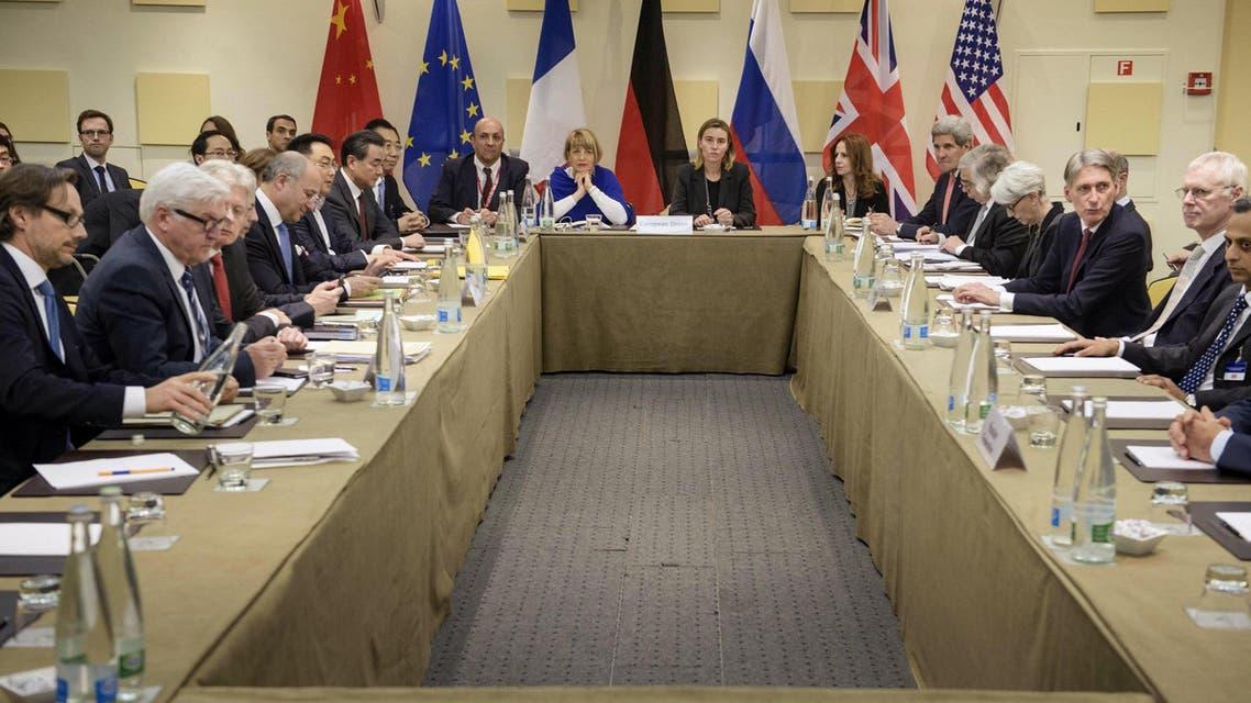 المفاوضات النووية الإيرانية
