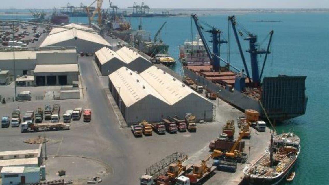 ميناء عدن الحدث