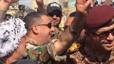 بالصور محافظ صلاح الدين يحتفل بطرد #داعش من تكريت