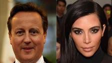 In shocker, David Cameron says he's related to Kim Kardashian
