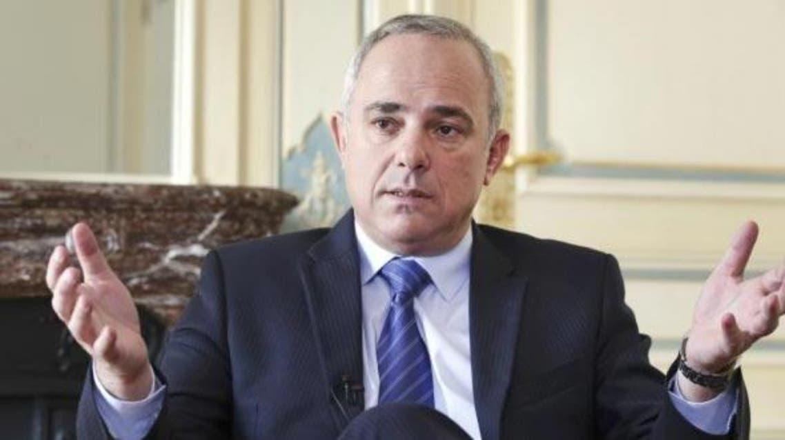 وزير الاستخبارات الإسرائيلي يوفال شتاينتز