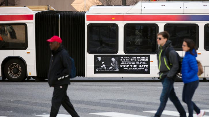 Ads featuring Hitler, Arab leader to appear on Philly buses