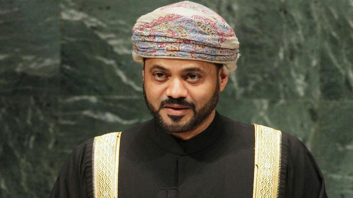 Sayyid Badr bin Hamad Al-Busaidi, secretary general of Oman's Foreign Ministery, addresses the 65th session of the United Nations General Assembly at U.N. headquarters Tuesday, Sept. 28, 2010, in New York. (File: AP)