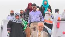 176 پاکستانیوں کی خصوصی پرواز سے وطن واپسی