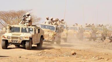 معارك عنيفة بجبهة حرض قبالة منطقة الطوال السعودية