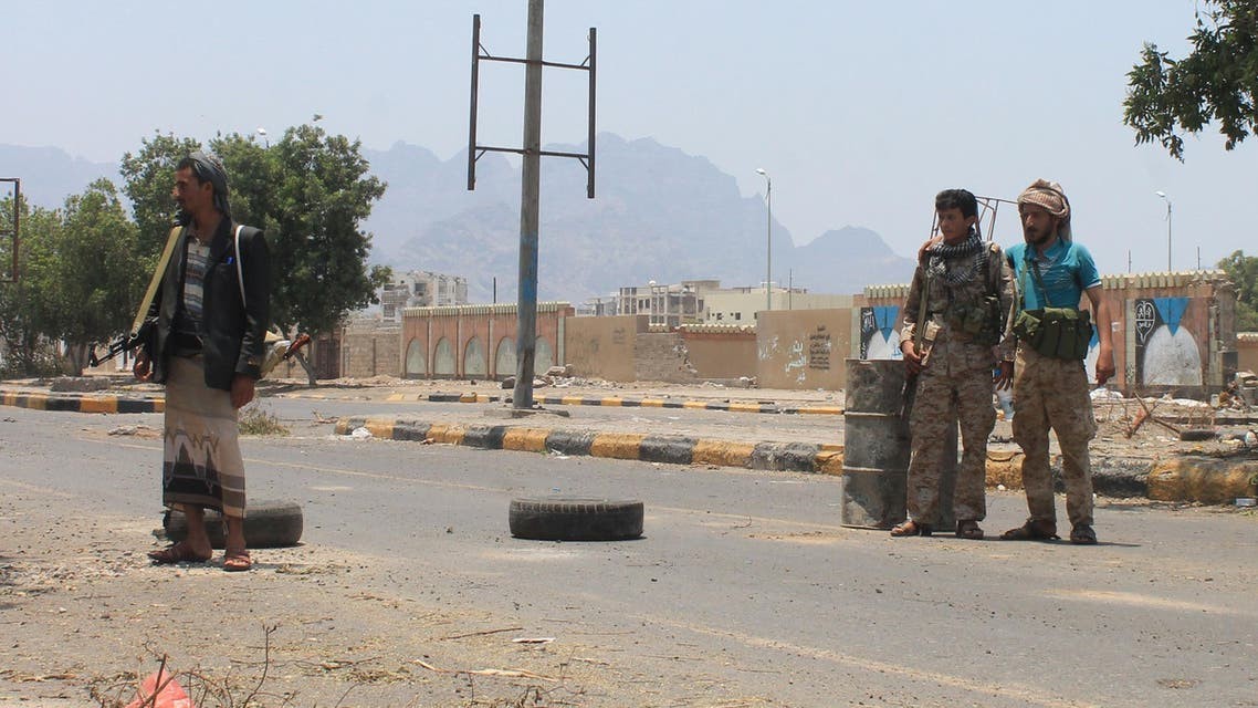 حاجز أمني للحوثيين في محيط عدن