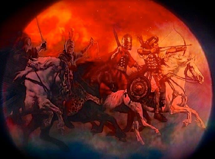 حدثت 3 خسوفات متتالية للقمر الأحمر في 5 قرون، ولخسوفه 4 مرات هذه المرة  علاقة بالشرق الأوسط ...