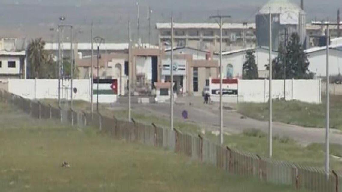THUMBNAIL_ الأردن يغلق منفذ جابر الحدودي مع سوريا لليوم الثالث