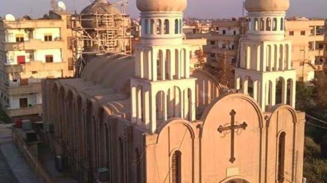 كنيسة العذراء الحسكة