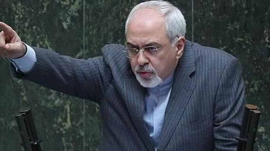 ظریف در مجلس ایران