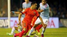 Lionel Messi, Neymar and Luis Suarez mobbed by 'selfie stick' fans