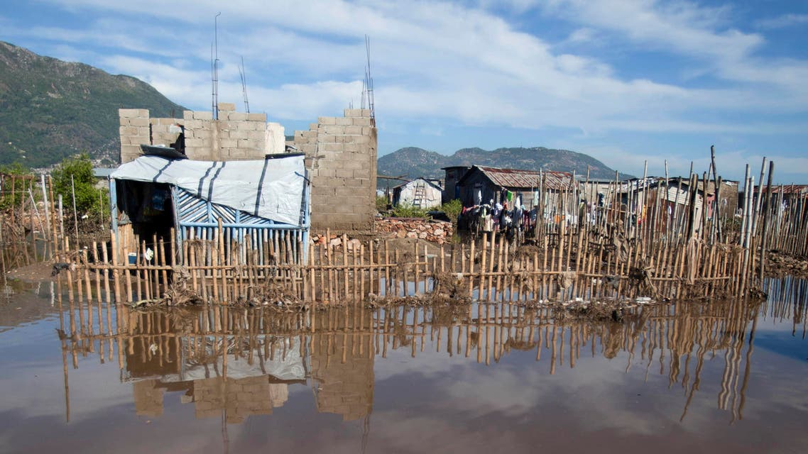 Shack homes stand in floodwater in Cap-Haitien, Haiti, Friday, Nov. 7, 2014. (File Photo: AP)